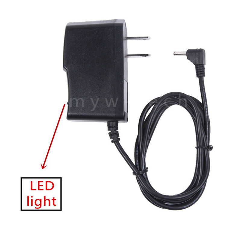 EU Plug AC//DC 24V 600mA 0.6A Power Supply Cord Adapter 5.5mm x 2.1mm