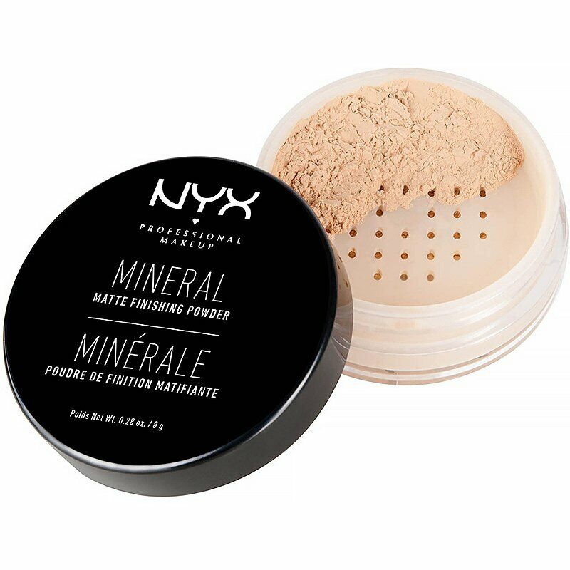 NYX Professional Makeup Mineral Finishing Powder, Light/Medi