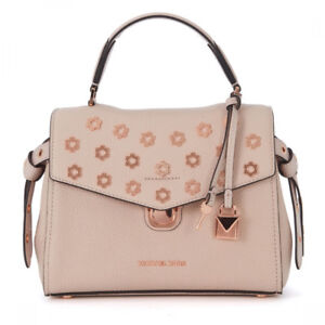 Michael Kors Bristol Small Top-Handle Small Soft Pink Gold