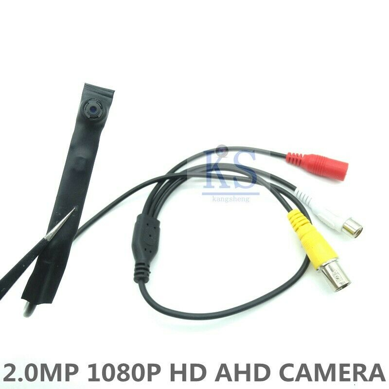 4PCS Lens HD 2.0MP AHD Camera CCTV Wired 1080P Camera Indoor Security Hole Birth