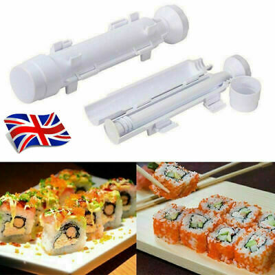 Sushi Bazooka Roller Maker Kit DIY Rice Rolling Machine Kitchen Food Tube Mold