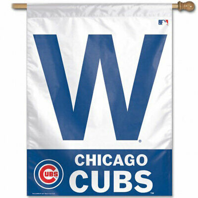 MLB Chicago Cubs Vertical W Flag for sale  Shipping to Canada