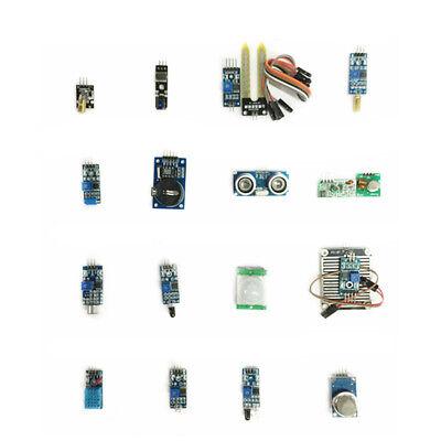 16pcs Sensor Module Kit Laser Ultrasonic Ir Dht11 Rtc For Raspberry Pi Arduino