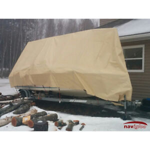 19 by 32 Navigloo Boat Shelter for Fishing Boat/Bowrider