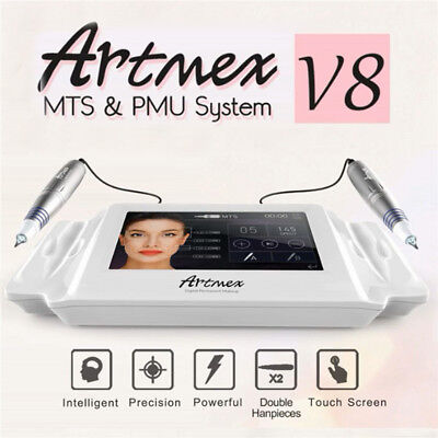 Artmex V8 Permanent Make-up Tattoo Maschine Augenbraue Lip Dreh Pen MTS PMU - Permanent Tattoo Maschine Pen