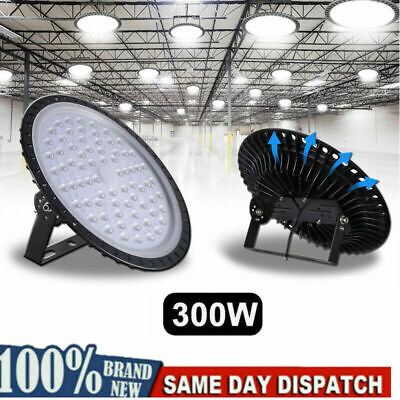 Ufo Led High Bay Shop Warehouse Industrial Light Fixture 300w 24000lm 6500k