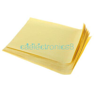 10pcs A4 Sheets Heat Toner Transfer Paper For Diy Pcb Electronic Prototype Mak