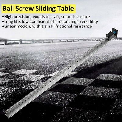 1000mm Cnc Manual Sliding Table M4 Ball Screw Linear Stage Slide Stroke 60kg