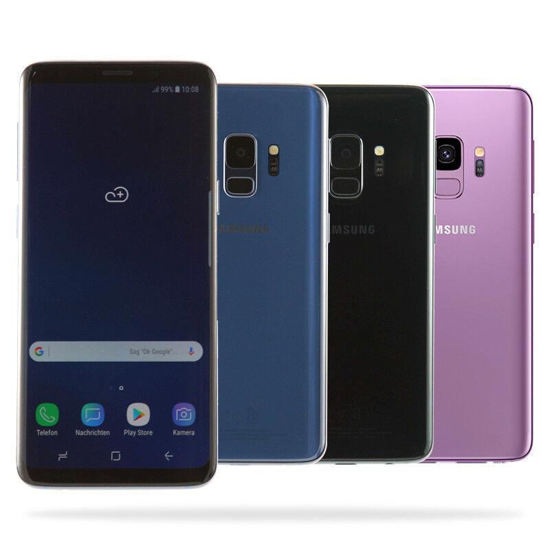 Samsung Galaxy S9 G960F / 64GB / Schwarz Blau Lila / eBay Garantie / Händler DE