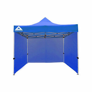 NEW Caddis Sports Rapid Shelter Sidewall, Royal Blue, 10'x10'