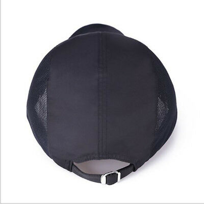 Men Outdoor Quick-drying Visor Caps Sport Cool Summer Running Baseball Mesh Hat - Cool Baseball Caps
