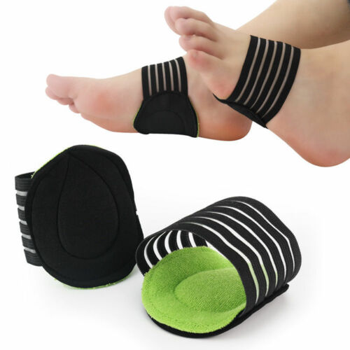 2 Pairs Heel Pain Relief Plantar Fasciitis Insole Pads Arch Support Shoes Insert Clothing & Shoe Care