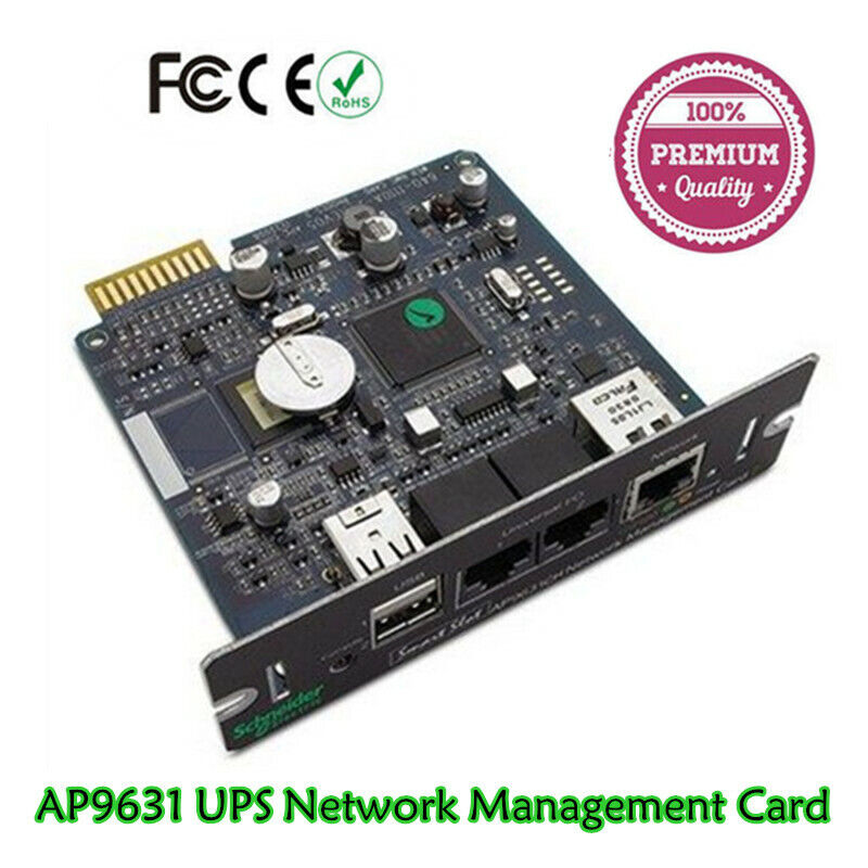 1PCS APC Schneider AP9631 NIC Network Management Card Environmental Monitoring