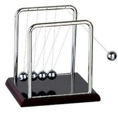 Newtons Balance Steel Ball Cradle Pendulum Physics Science Toy Father Day Gift