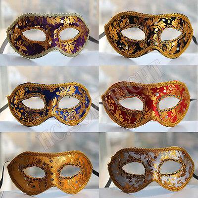 1pcs Pack of Masquerade Party Fantasy Masks weddings Halloween Half Face Mask  (Masquerade Mask Pack)