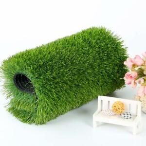 32.8*6.56ft (10m*2m) Synthetic Grass Artificial Turf Fake Lawn Plastic Yard(020667)