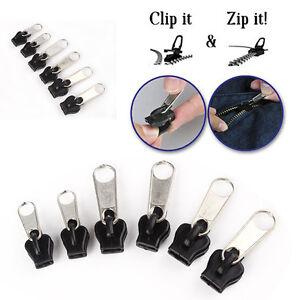 Fix-A-Zipper-Paquete-de-6-Cremallera-Rescue-Reparacion-Instantanea-Kit-Recambio