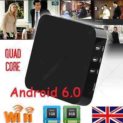 Android 6.0 KODI 16.1 SMART 8GB Quad Core M XQ OTT WIFI TV Box Media Player NEW