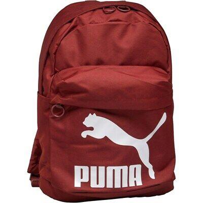 Puma Originals Backpack Fired Brick New Free UK Postage