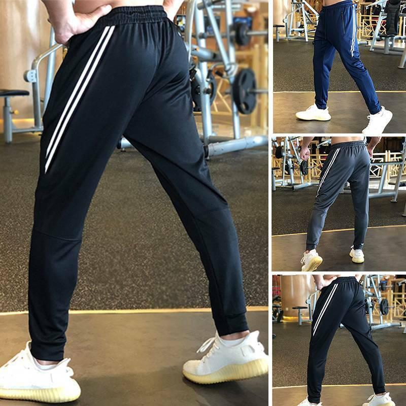 Mens Sweatpants Joggers Super Skinny Stretch Taper Loungewea