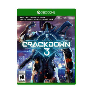 Brand New and Sealed Crackdown 3 (XB1)