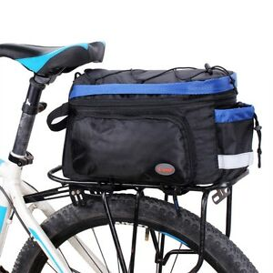 Bicycle Bike Rear Rack Water Resistant Double Pannier Bag