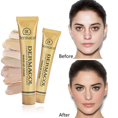 Natural Concealer Cream Moisturizing Facial Foundation Contour Beauty Makeup