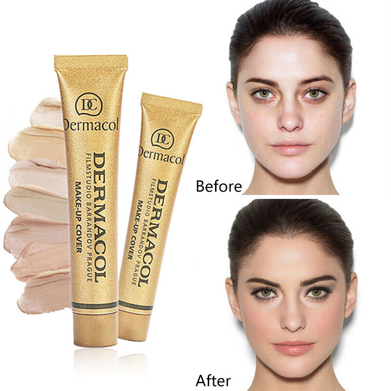 Natural Concealer Cream Moisturizing Facial Foundation Contour Beauty Makeup