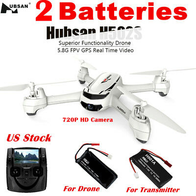 Hubsan H502S X4 Drone FPV RC Quadcopter 5.8G 720P HD Headless Follow Me GPS RTF