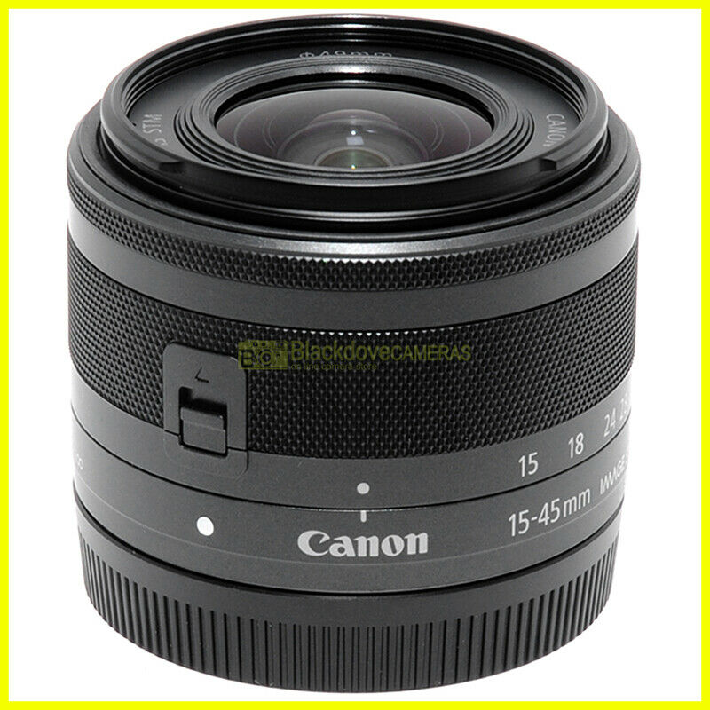 Canon EF-M 15-45 mm f3,5-6,3 IS STM MILC zoom per fotocamere mittorless EOS M