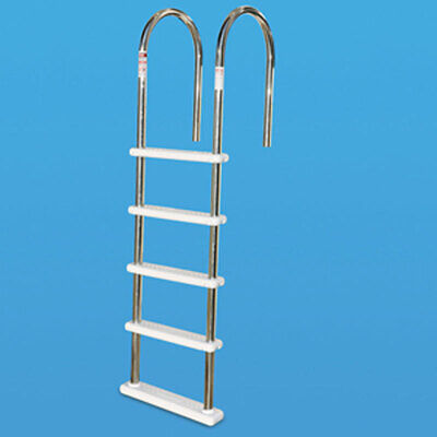 Swimline Stainless Steel In-Pool Deck Ladder For Aboveground Swiming Pool 87925