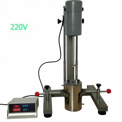 Digital Display High-speed Dispersion Machine Disperser Homogenizer Mixer Us New
