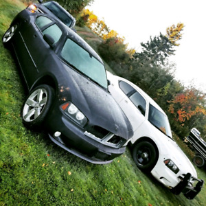 2010 dodge charger hemi rt with parts car
