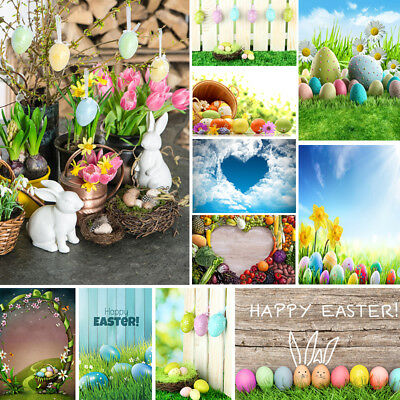 Photography Backdrops Easter Egg Vinyl Newborns Background Studio Photo - Easter Photography Backdrops