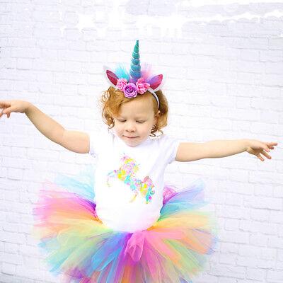 n Horn Kopf Stirnband Haar Party Kostüm Cosplay Dekor neu (Einhorn Kopf Kostüm)