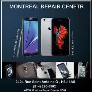 --- REPAIR YOUR CELLPHONE IN 15 MIN  --- UNLOCK , REPLACE GLASS
