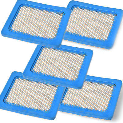 5pcs Air Filter Cartridge for Briggs & Stratton 491588 Lawn Mower Engine Parts  Briggs And Stratton Lawn Mower Parts
