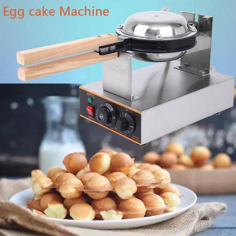 Electric Egg Cake Waffle Bake Machine Oven Puff Bread Maker