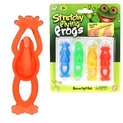 Fliegende Spielzeug (24x Schleim Frosch Slime fliegende Frösche Spielzeug Spielwaren Glibber 776)