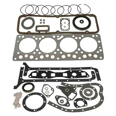 830766m92 - Mf Full Gasket Set G176 Continental Gas Engine Mf65 Mf165