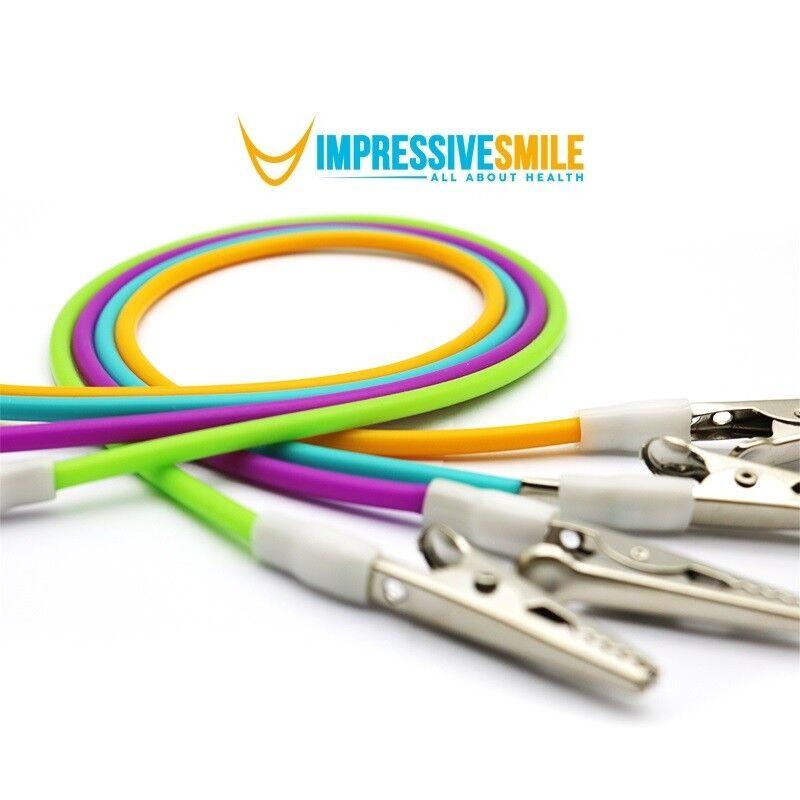 Купить Impressive Smile - Impressive Smile Dental Colorful Sterilizable Silicone Bib Holder Clips - Colors