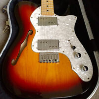 Fender 60th Anniversary F-Hole Telecaster Thinline (with case)