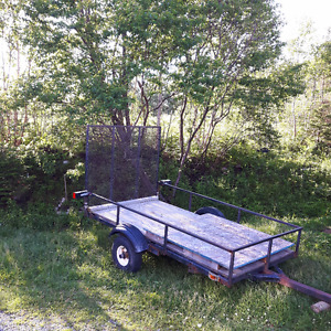 Utility trailer with papers *Suitable for off road use or Welder