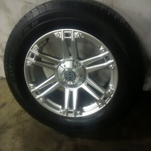 "20"" New Alloy Rims With Goodyear 275 60 R20 Tires"