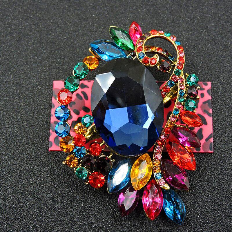 Pin By Crystal Johnson On Baldwin Hills Dam Break: Hot Colorful Enamel Lovely Flower Crystal Betsey Johnson