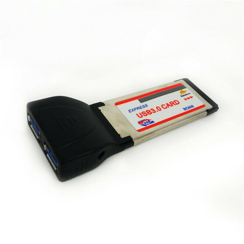 EXPRESS USB 3.0 CARD ExpressCard Adapter Solt for Laptop Notebook