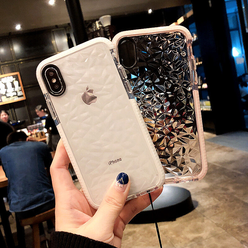 hybrid-shockproof-clear-diamond-soft-silicone-case-cover-for-iphone-x-6-7-8-plus