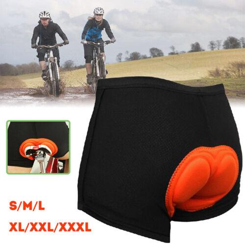 Herren Radhose Kurz Fahrradhose Radlerhose mit 3D Sitzpolster Schwamm Kurze Hose