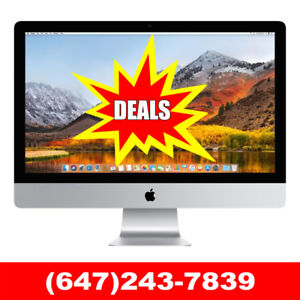 Phenomenal Prices for an Amazing Apple iMac! - 905-332-7031