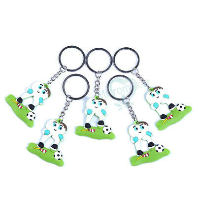Dental Molar Tooth Football Soccer Player Keychain For Dentist Clinic Gift